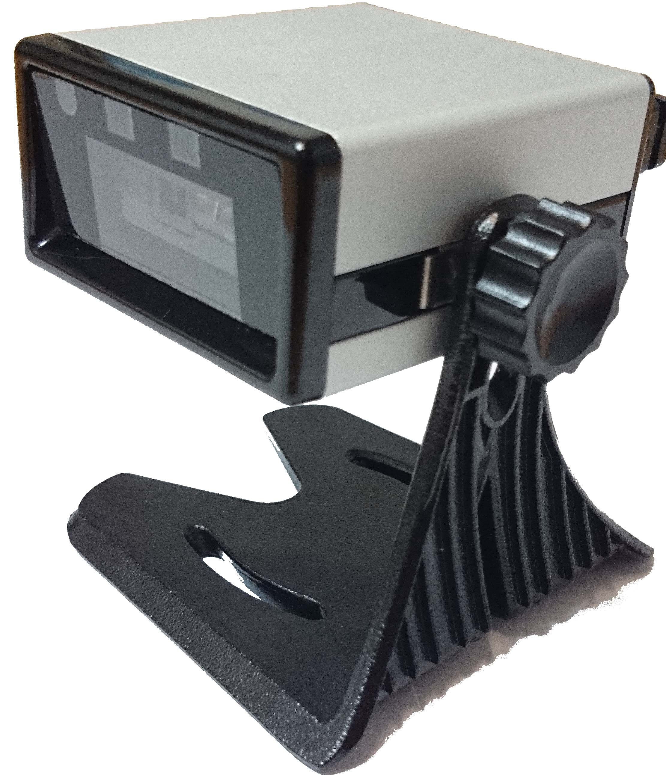 Fixed mount barcode scanner